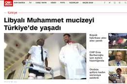 Libyan miracle of Muhammad lived in Turkey