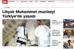 Libyalı Muhammet mucizeyi Türkiyede Yaşadı