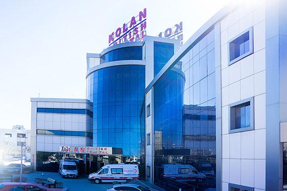 Kıbrıs Kolan British Hospital